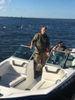 19 ft. Yamaha SX190  Cruiser Boat Rental Tampa Image 4