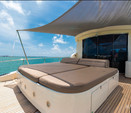 80 ft. Leopard 88 Motor Yacht Boat Rental Miami Image 4