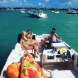 26 ft. Bayliner 2659 Rendezvous Bow Rider Boat Rental Miami Image 47