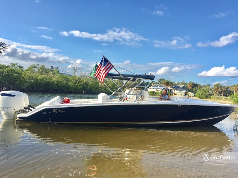 Rent a Marlago by Jefferson Yachts center console in Fort Lauderdale, FL near me