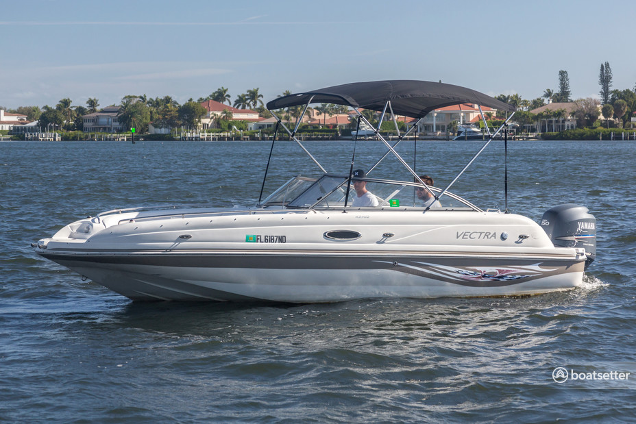 Rent a Vectra bow rider in Delray Beach, FL near me