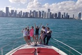 60 ft. Ferretti Flybridge Motor Yacht Boat Rental Miami Image 24