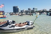 24 ft. Leisure Pontoons 2423 Navigator Deck Boat Boat Rental Miami Image 10