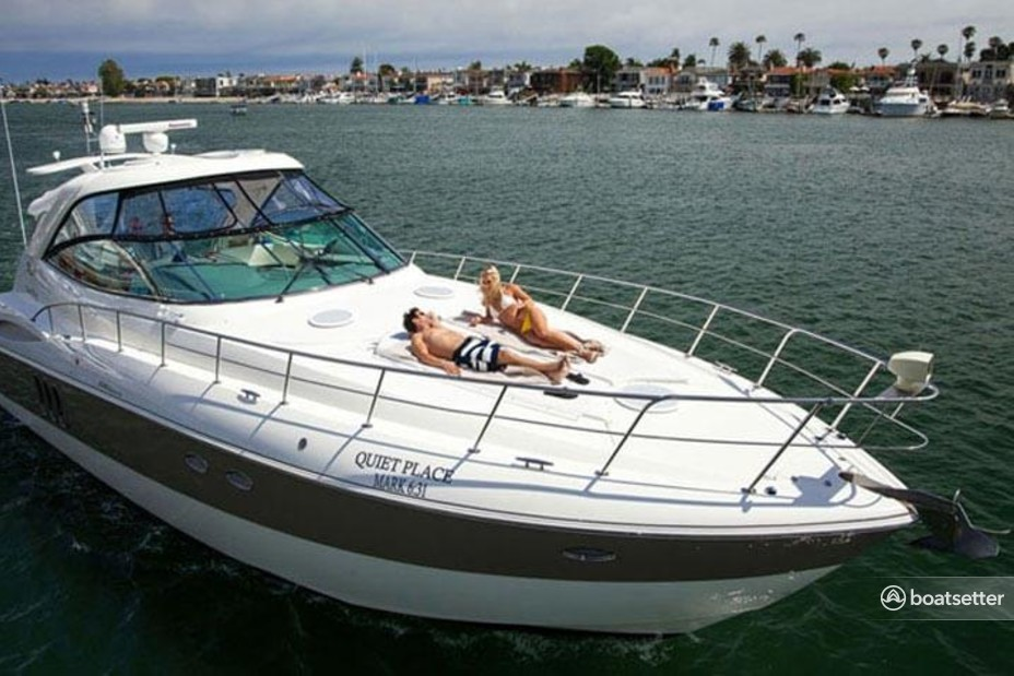 Rent a Cruisers Yachts express cruiser in Newport Beach, CA near me