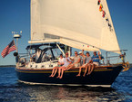 47 ft. Other Stevens 47 Cruiser Boat Rental Boston Image 8