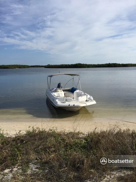 Rent a Hurricane Boats deck boat in New Smyrna Beach, FL near me