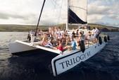 54 ft. Pacific Rim 54' Sloop Rigged Sailing Catamaran Catamaran Boat Rental Hawaii Image 1