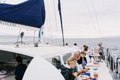 54 ft. Pacific Rim 54' Sloop Rigged Sailing Catamaran Catamaran Boat Rental Hawaii Image 3