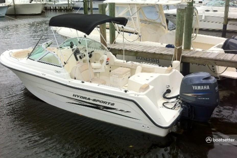 Rent a Hydrasports Boats saltwater fishing in Stuart, FL near me