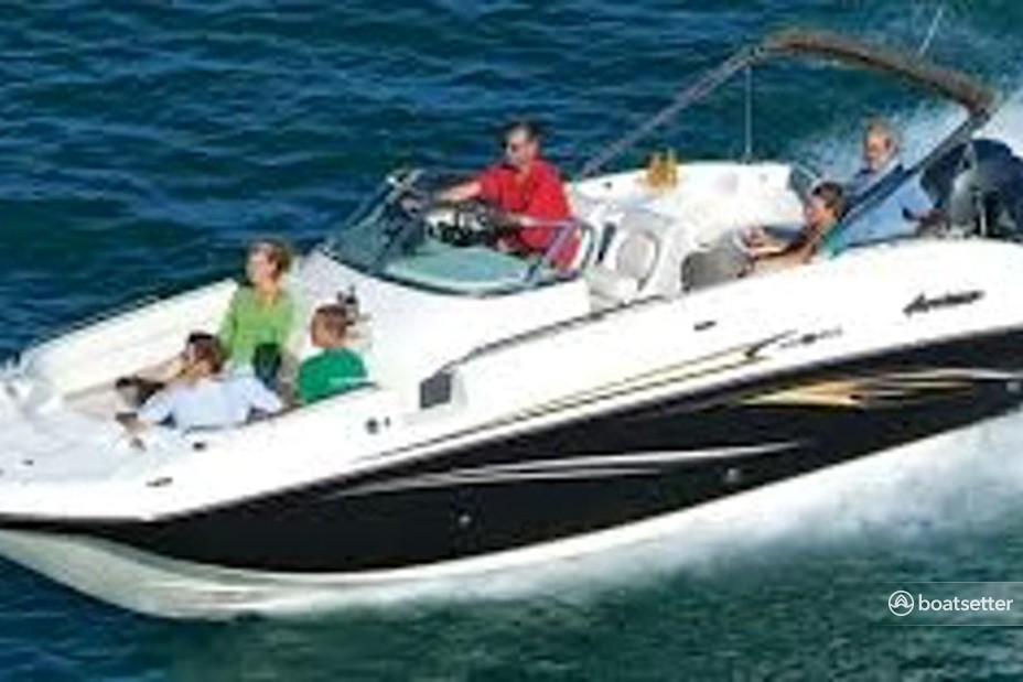 Rent a Hurricane Boats deck boat in Stuart, FL near me