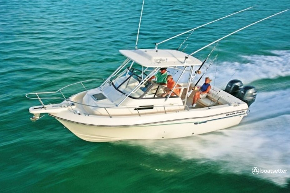 Rent a Grady-White Boats walkaround in Stuart, FL near me