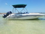 20 ft. Hurricane Boats FD 202 Deck Boat Boat Rental Tampa Image 1