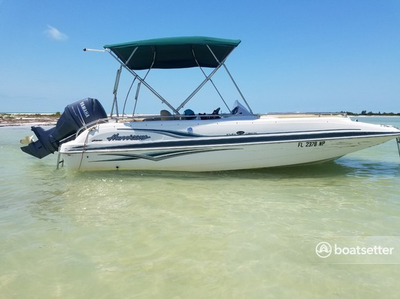 Rent a Hurricane Boats deck boat in Tarpon Springs, FL near me
