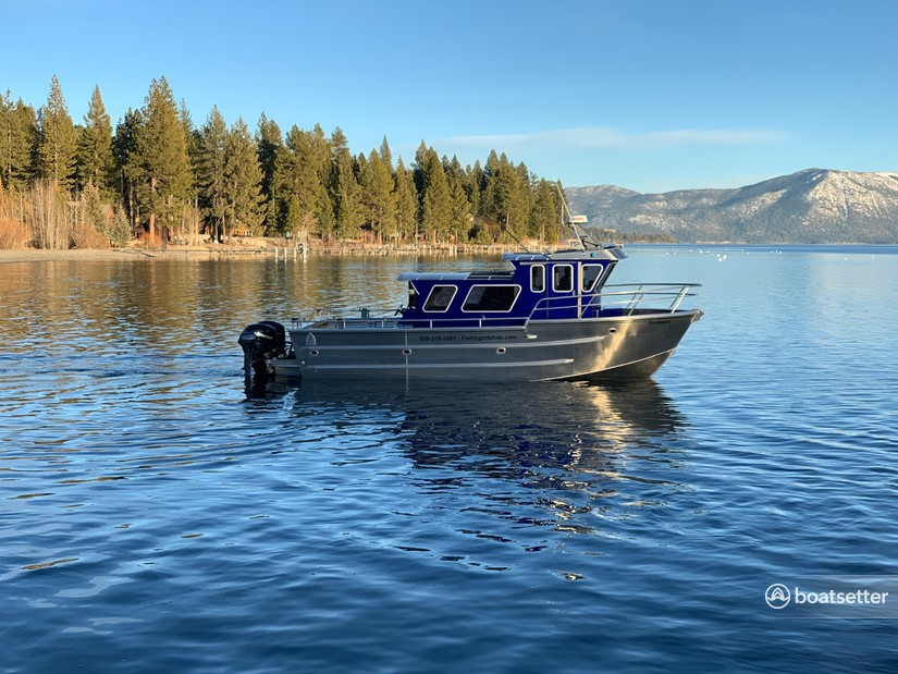Rent a North River aluminum fishing in Glenbrook, NV near me