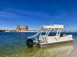 25 ft. Veranda V25RL Vertex w/Triple Toon Perf. Pkg. Pontoon Boat Rental West FL Panhandle Image 1