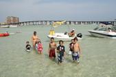 25 ft. Veranda V25RL Vertex w/Triple Toon Perf. Pkg. Pontoon Boat Rental West FL Panhandle Image 3
