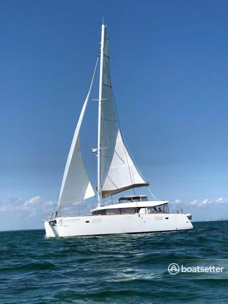 Rent a Lagoon Catamarn catamaran in North Miami, FL near me