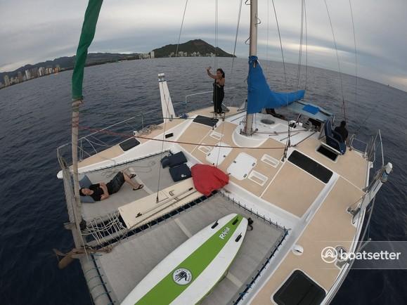 Rent a Bosun Boats catamaran in Honolulu, HI near me