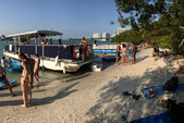 40 ft. Corinthian Pontoon Pontoon Boat Rental Miami Image 1
