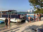 40 ft. Corinthian Pontoon Pontoon Boat Rental Miami Image 26