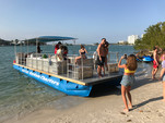 40 ft. Bulldog Pontoons 10x40 Pontoon Boat Rental Miami Image 108