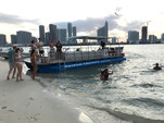 40 ft. Bulldog Pontoons 10x40 Pontoon Boat Rental Miami Image 131