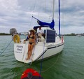 30 ft. Canadian Sail Yacht CS 30' Cruiser Boat Rental Miami Image 16