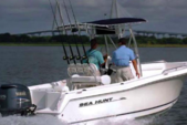 22 ft. Sea Hunt Boats Triton 225 Center Console Boat Rental Fort Myers Image 2