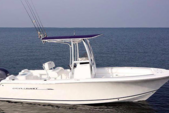 22 ft. Sea Hunt Boats Triton 225 Center Console Boat Rental Fort Myers Image 1