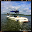 21 ft. Tige' Boats 21v Riders Ski And Wakeboard Boat Rental Austin Image 3