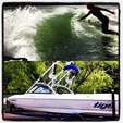 21 ft. Tige' Boats 21v Riders Ski And Wakeboard Boat Rental Austin Image 5