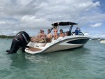 27 ft. Sea Ray Boats 270 Sundeck w/300XL Verado Bow Rider Boat Rental Miami Image 4