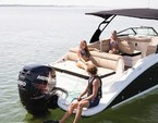 27 ft. Sea Ray Boats 270 Sundeck w/300XL Verado Bow Rider Boat Rental Miami Image 8