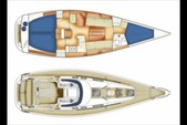 37 ft. X-Yachts USA X37 Classic Version Cruiser Racer Boat Rental Miami Image 11