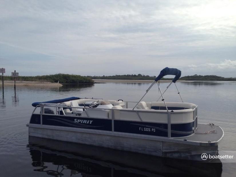 Rent a JC Spirit pontoon in Port Orange, FL near me