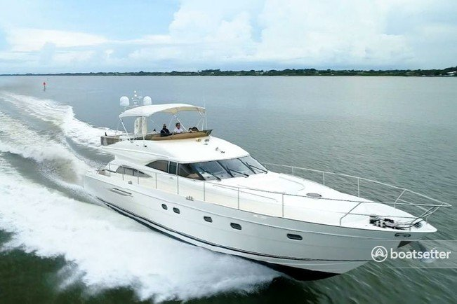 Rent a Viking motor yacht in South Pasadena, FL near me