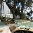 21 ft. Sea Ray Boats 210 Sundeck Cruiser Boat Rental Miami Image 7