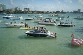 19 ft. Yamaha AR190  Bow Rider Boat Rental Miami Image 8