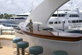 97 ft. Ferretti 97 Mega Yacht Boat Rental Miami Image 1