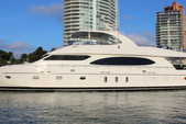 97 ft. Ferretti 97 Mega Yacht Boat Rental Miami Image 5