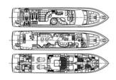97 ft. Ferretti 97 Mega Yacht Boat Rental Miami Image 10