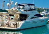 52 ft. Viking Yacht 52 Sport Cruiser Flybridge Motor Yacht Boat Rental The Keys Image 4