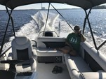 23 ft. Hurricane Fundeck  Deck Boat Boat Rental Tampa Image 4