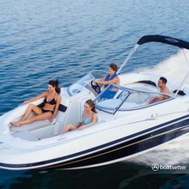 Rent a Hurricane Boats deck boat in Miami, FL near me