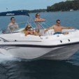 20 ft. Hurricane Boats SDS 202 IO Deck Boat Boat Rental Miami Image 1