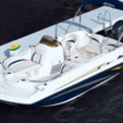 20 ft. Hurricane Boats SDS 202 IO Deck Boat Boat Rental Miami Image 2