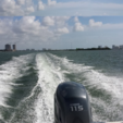 20 ft. Hurricane Boats SDS 202 IO Deck Boat Boat Rental Miami Image 3