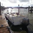 22 ft. Sun Deck 22' Deck Boat Boat Rental Miami Image 1