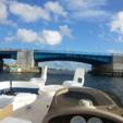 22 ft. Sun Deck 22' Deck Boat Boat Rental Miami Image 2