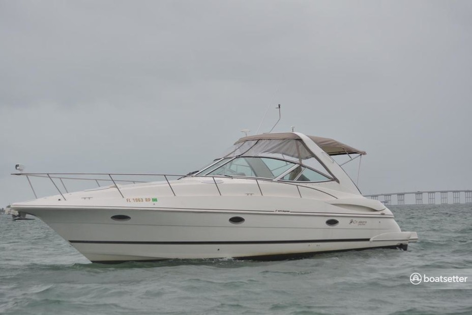 Rent a Cruisers Yachts motor yacht in Miami, FL near me